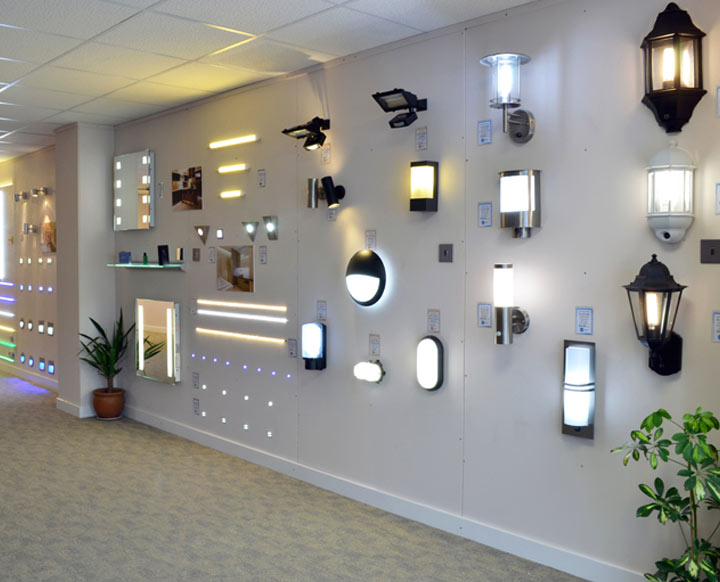 Lighting Showroom Wirral